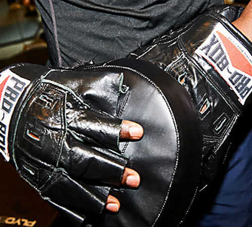 Spa gloves for boxing