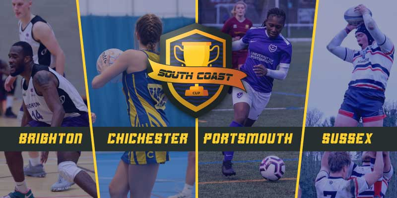 Multiple sports and universities compete in South Coast Cup
