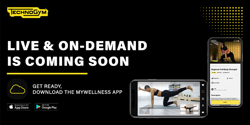 Technogym Mywellness app coming soon